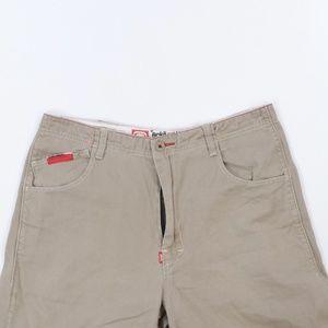 Ecko Shorts - Ecko Unltd Denim Foundry Complex Spell Out Shorts